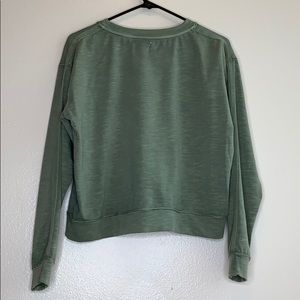 Sundry Tops - Sundry washed green pullover